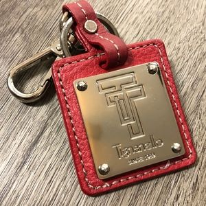 TIGNANELLO | Key Chain | Leather | Silver Hardware